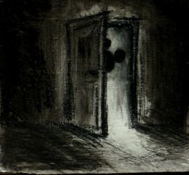 behind the door by StoneDeaf