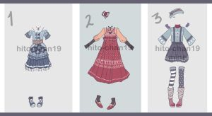 [Auction][CLOSED] Outfit Batch 5 by tinyhito