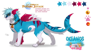 Okeanos reference sheet 2017 by Strawberry-Loupa