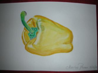 Yelllow Bell Pepper by Marites73