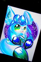 Glaceon! by Silver-Artemis-Moon