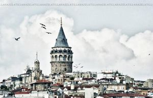 Galata tower by HzlCan