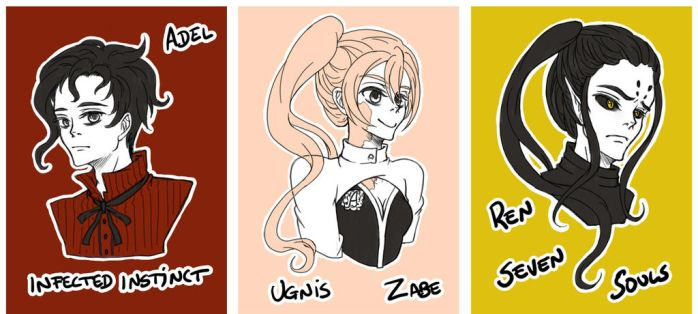 Subcultura Fan Sketches #1 by Kawaii-Dream