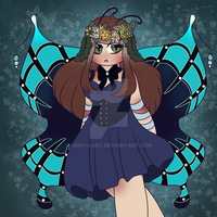 Luvlee Butterfly! by Honyu-Art
