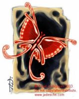 Butterfly Tag by merit