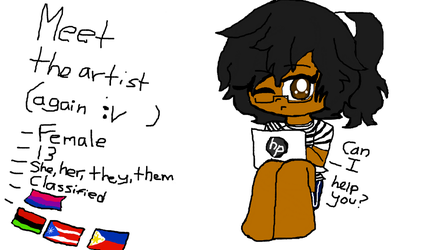 Meet the artist who is a salty child lmao (redraw) by Will-N-Axelle