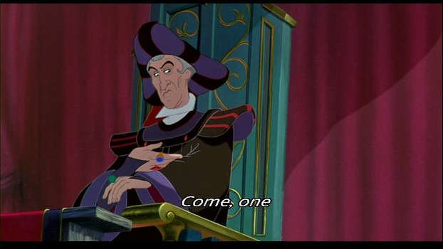 Frollo in the Festival of Fools by Severusiana