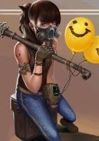 Give a smiling face by yangzheyy