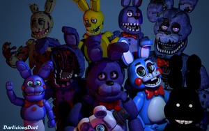 Bonnie, Bonnie, and Bonnie by 3D-Darlin