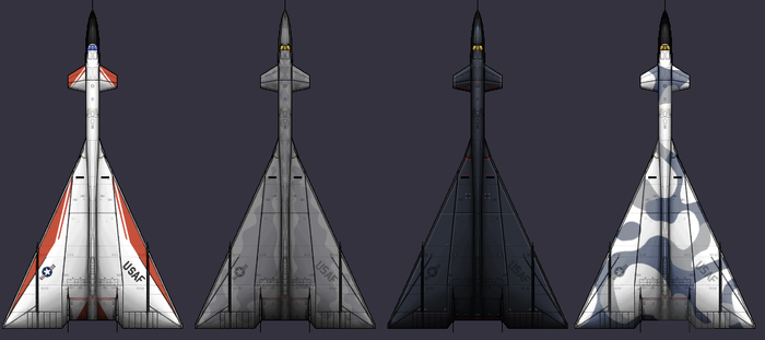 XB-70 Alternate Colors by PrinzEugn