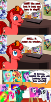 Jasper Reacts to It Isn't the Mane Thing About You by JasperPie
