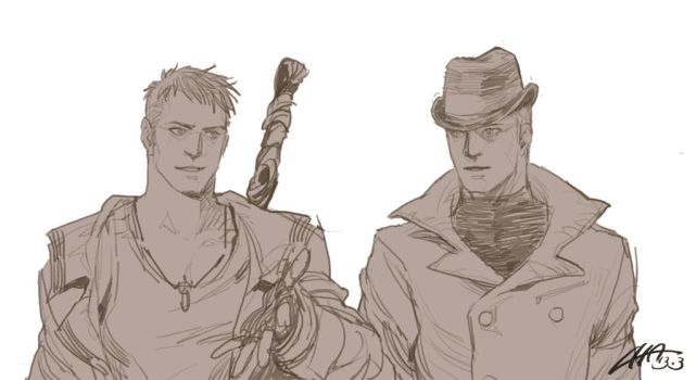 Fan Art_DMC_Dante and Virgil by chawant