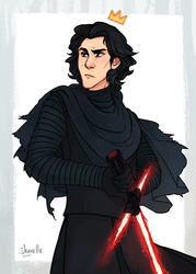 actual disney prince kylo ren by shorelle