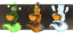 [Adopt batch 2/3 OPEN] - Halloween cats by Ekria
