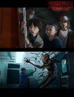 Stranger Things Sketches by emperor-smash