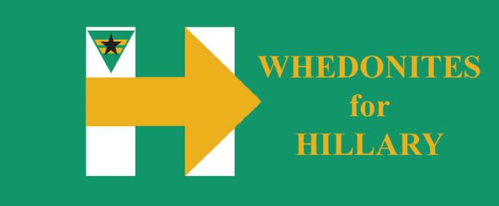 Whedonites for Hillary by HawkEagleWolf