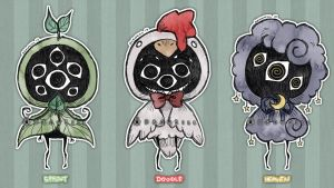 Eyeball Puppets APR [CLOSED] by DrawKill