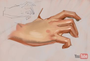 How to paint hands by medders