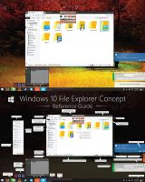 V1 Windows 10 File Explorer Concept (HD) by dAKirby309