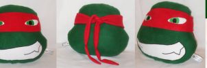 FOR SALE :TMNT: Raph Pillow by MiharutheKunoichi