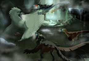 [Hunting] Meet the pack by VireeArt