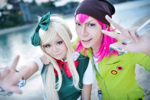 DGRP2.:.Case of Sonia Nevermind and Souda Kazuichi by Crimson-Holic
