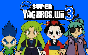 New Super Yae Bros Wii 3 by Ruensor