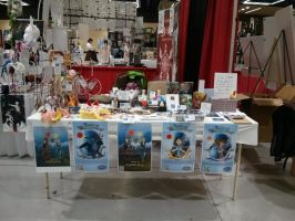 The full view of my table by TheSorceressRaven
