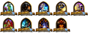 Hearthstone Portrait Icons (ICO, PNG) by mgbeach