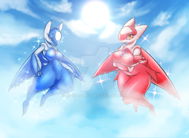 Water City Protector [Latios][Latias]