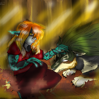 Fall Melody by Midna-Mcellion