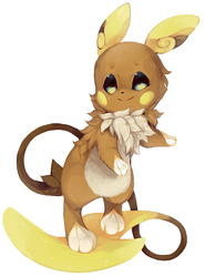 Alolan Raichu [+ Speed Paint] by qekkon