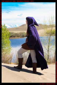 Jedi Cheela traverses the Dunes of Tatooine by IceDragonCosplay