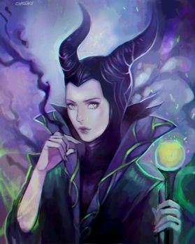 Maleficent by Chucky-tan