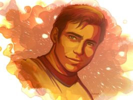 Captain Kirk by TechnoRanma