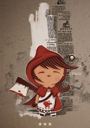 Little Red Riding Hood by neo-innov