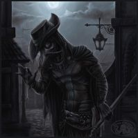 Steampunk Plague Doctor by Cthulhu-Great