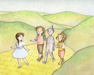 The Wonderful Wizard of Oz by Feliks-Grell
