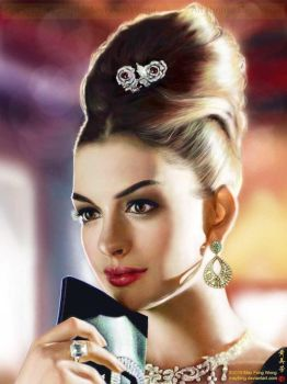 Anne Hathaway Elegance by MayFong