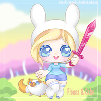 .: Fionna and Cake :. by PhantomCarnival