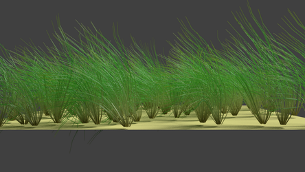 Third attempt at Grass in Blender by dexter-roderick
