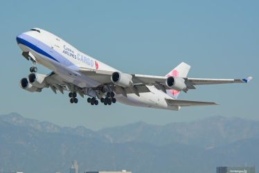 China Airlines Cargo Boeing 747-409F/SCD B-18709 by concaholic