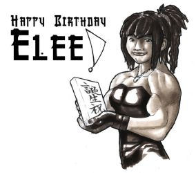 Happy Birthday Elee by Fettcom