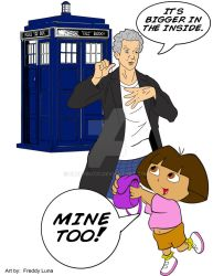 Dora and The Doctor by bluepen731
