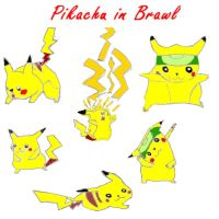Pikachu in Brawl by xXPikaPrincessXx