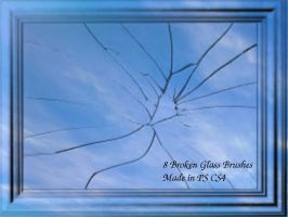 broken glass by priscilavedder