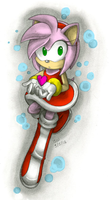 Colored Gift :Amy Rose-Value: by ClassicAmy
