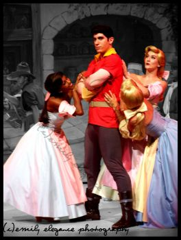 Gaston and Girls by emilybbycakes