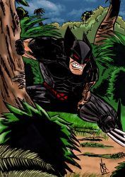 Wolverine In The Wild Classic by nic011