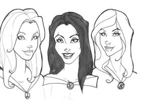 The 3 Sisters Black by maraudress